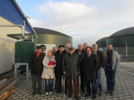 Die SPD informiert sich im Energiepark in Merkendorf