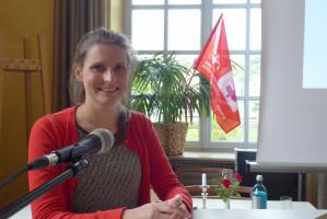 Julia Bergmeier, Referentin für Sozialpolitik beim VdK Bayern