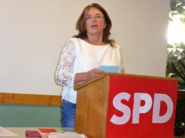 Fraktionsvorsitzende Petra Hinkl berichtet aus dem Kreistag