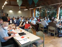 Ein Blick auf die Delegierten der Kreiskonferenz