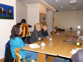 Die SPD zu Besuch im Lebenshilfe-Wohnheim in Herrieden