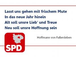 Die KreisSPD wünscht allen Freundinnen und Freunden ein gutes, neues und politisch erfolgreiches Jahr!