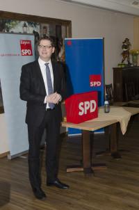 Der stv. SPD- Bundesvorsitzende Thorsten Schäfer- Gümbel bei seiner Rede
