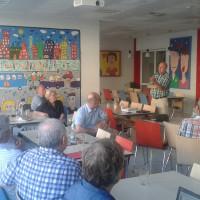 Besuch der Gustav-Weißkopf-Schule